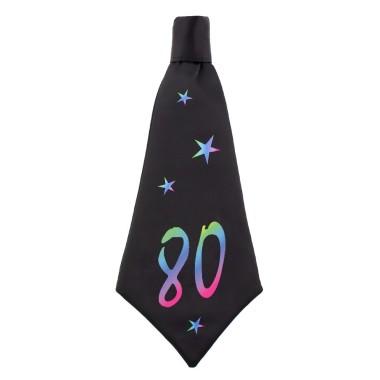 Nyakkendő 80 fekete