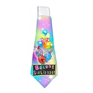 Boldog születésnapot feliratú nyakkendő