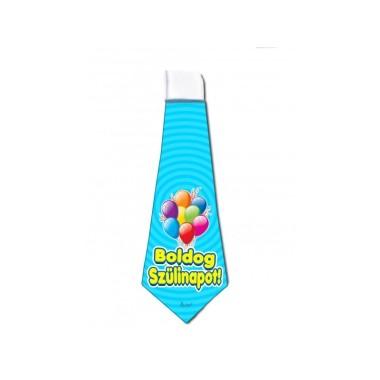 Szülinapi nyakkendő világoskék