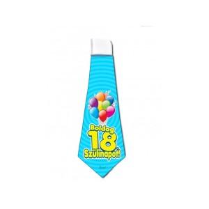18. Születésnapi nyakkendő