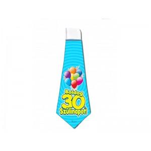 30. Születésnapi nyakkendő
