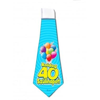 40. Születésnapi nyakkendő