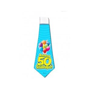 50. Születésnapi nyakkendő