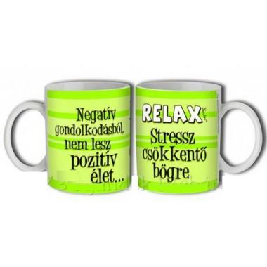 Relax Stressz csökkentő bögre 3dl