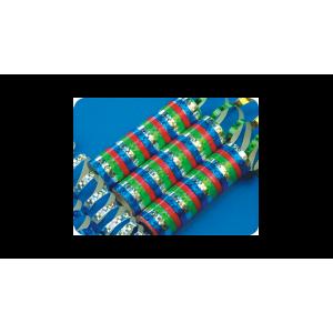 Hologramos többszínű szerpentin