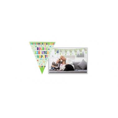 Zászlós Boldog Születésnapot füzér , 360 cm