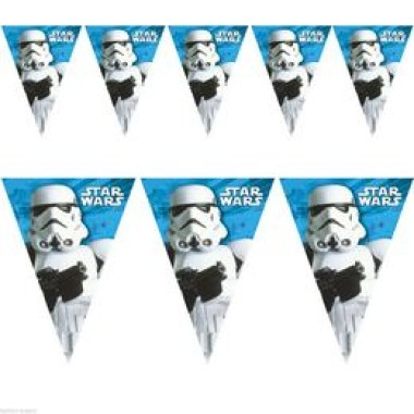 Star Wars Rohamosztagos Parti Zászlófüzér