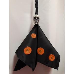 Halloween-re koponyafejes dekoráció