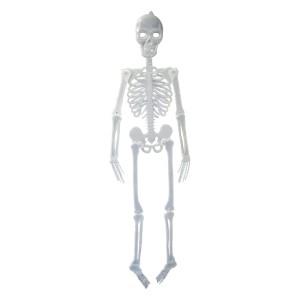 Halloween csontváz műanyag fluoreszkáló