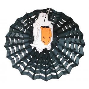 Halloween lampion szellem ,papír