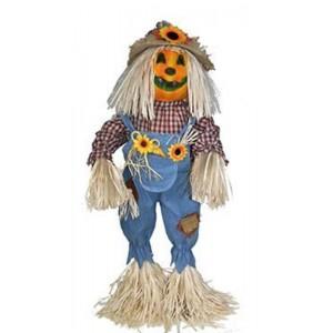 Halloween álló tök dekor