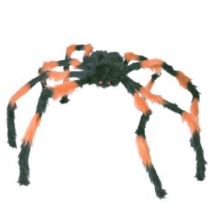 Pók szőrős-óriás fekete-narancs