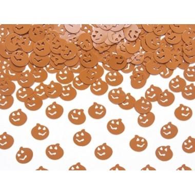 Halloween konfetti tök