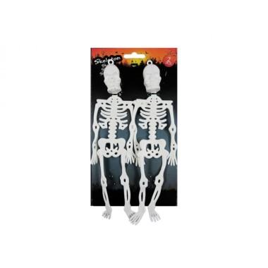 Csontváz szett 2db 25cm fehér