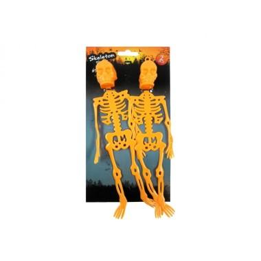 Csontváz szett 2db 25cm narancssárga