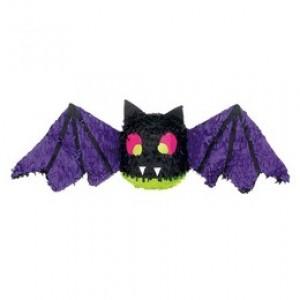 Lila Fekete Denevér Parti Pinata Játék Halloween-re