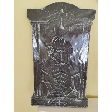 Halloweenre sírkő dekoráció