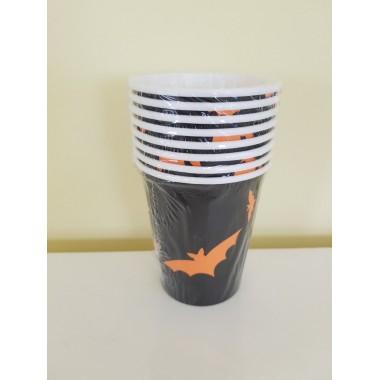 Halloweenre papír pohár