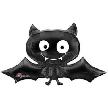 41 inch-es Black Bat - Denevér Fólia Lufi