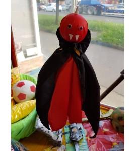 Halloween-re vámpír dekoráció