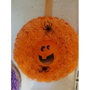 Halloween-re ajtódísz