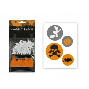 Halloween-re konfetti
