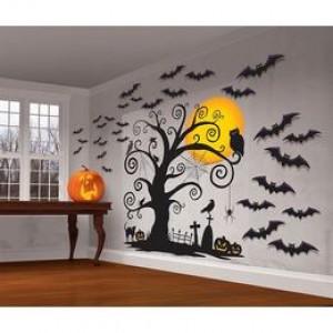Halloween-re szobadíszlet- Lakás dekoráció