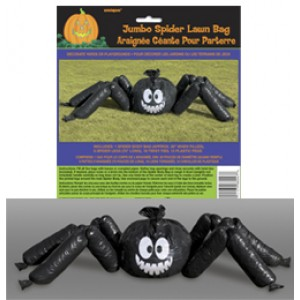 Halloween-re Pók Alakú Kitömhető Zsák Dekoráció