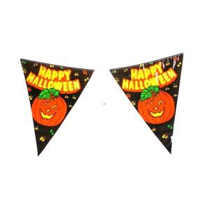 Halloween-re Happy Halloween zászló felirat