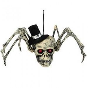 Koponyás pók Dekoráció