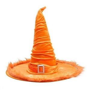 Kalap boszi plüss narancs