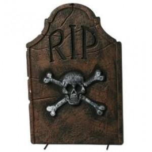 R.I.P. Feliratú Sírkő Dekoráció Halloweenre