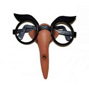 Boszi orr szemüveggel