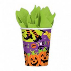 Tökfej Parti Pohár Halloween-ra - 266 ml, 8 db-os