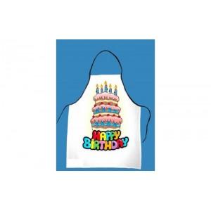 Happy Birthday kötény