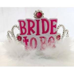 Bride to be tiara boás