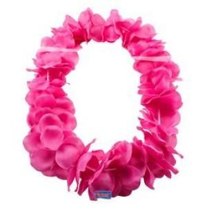 Hawaii rózsaszín nyakfűzér