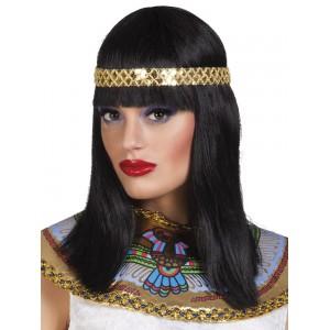 Paróka Kleopátra- hajpánttal