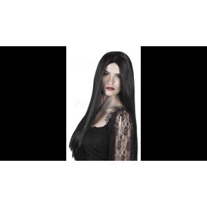 Paróka hosszú fekete boszorkány
