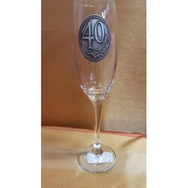 Pezsgős pohár 40