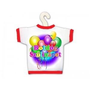 Üvegpoló Boldog születésnapot