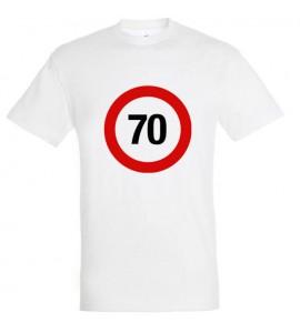 Sebességkorlátozó 70-es póló