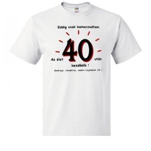 Póló 40 éveseknek