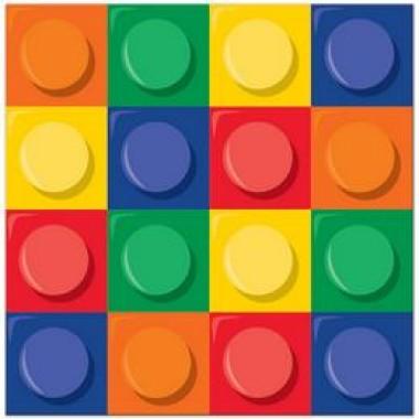 Block Party - Lego Parti Szalvéta