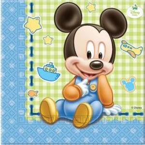 Mickey Baby Parti Szalvéta