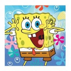 Spongebob Parti Szalvéta