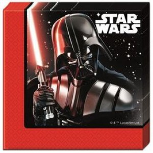 Star Wars Final Battle Parti Szalvéta - 33 cm x 33 cm, 20 db-os