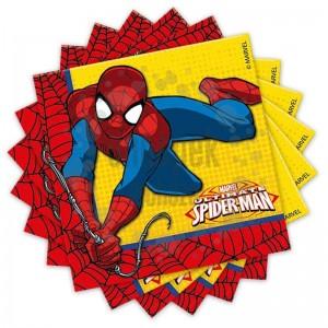 Ultimate Spiderman Power - Pókember Parti Szalvéta