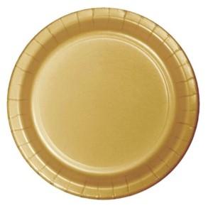 Arany parti tányér
