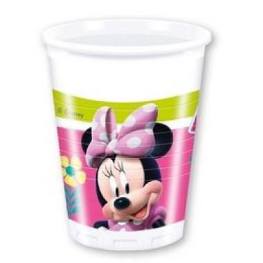 Minnie Happy Helpers Parti Pohár - 200 ml, 8 db-os